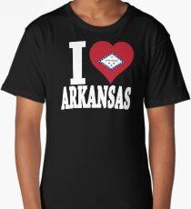 Arkansas t-shirt Arkansas flag USA t-shirt Long T-Shirt