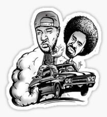 BAY AREA RAP LEGENDS (THE JACKA & MAC DRE) MEMORBILIA Sticker