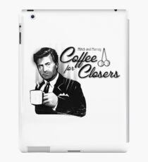 Coffee's for Closers iPad Case/Skin
