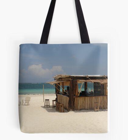 The Beach Bar Tote Bag
