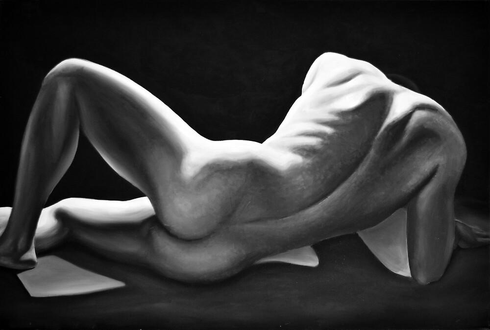Immortal, 2015, 120-80cm, oil on canvas by oanaunciuleanu