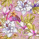 «Precioso atardecer tropicana» de Elena Belokrinitski
