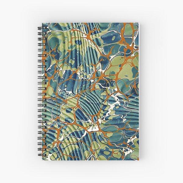 Viejo papel veteado 05 Cuaderno de espiral