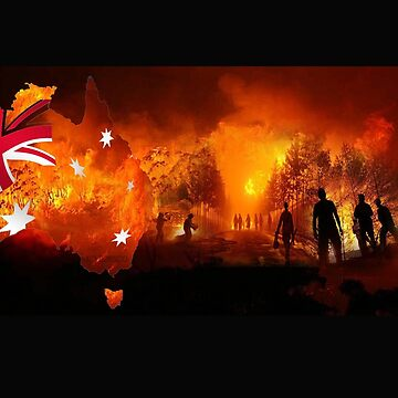 Australia Burns by rossco