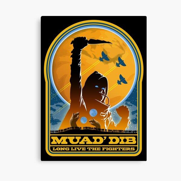 Dune MUAD' DIB Canvas Print
