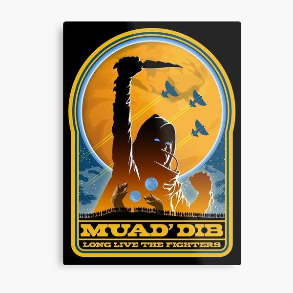 Dune MUAD' DIB Metal Print