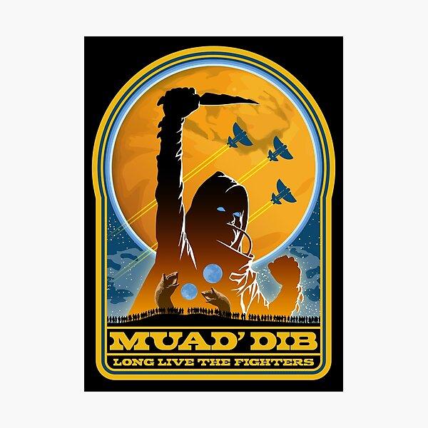 Dune MUAD' DIB Photographic Print