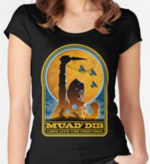 Dune MUAD' DIB Women's Fitted Scoop T-Shirt
