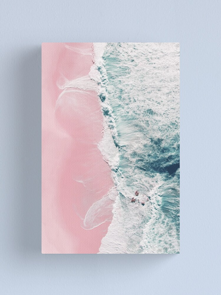 Alternate view of sea of love Canvas Print