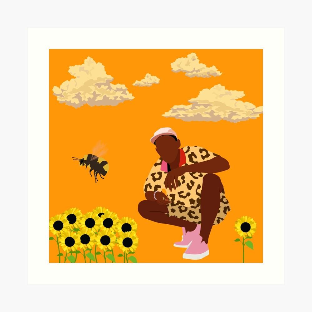 Tyler, El Creador - Flower Boy Lámina artística