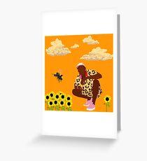 Tyler, The Creator - Flower Boy Greeting Card