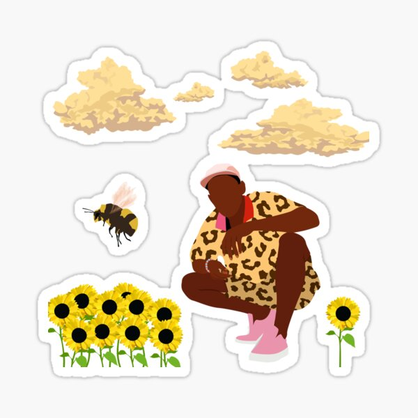 Tyler, The Creator - Flower Boy Sticker