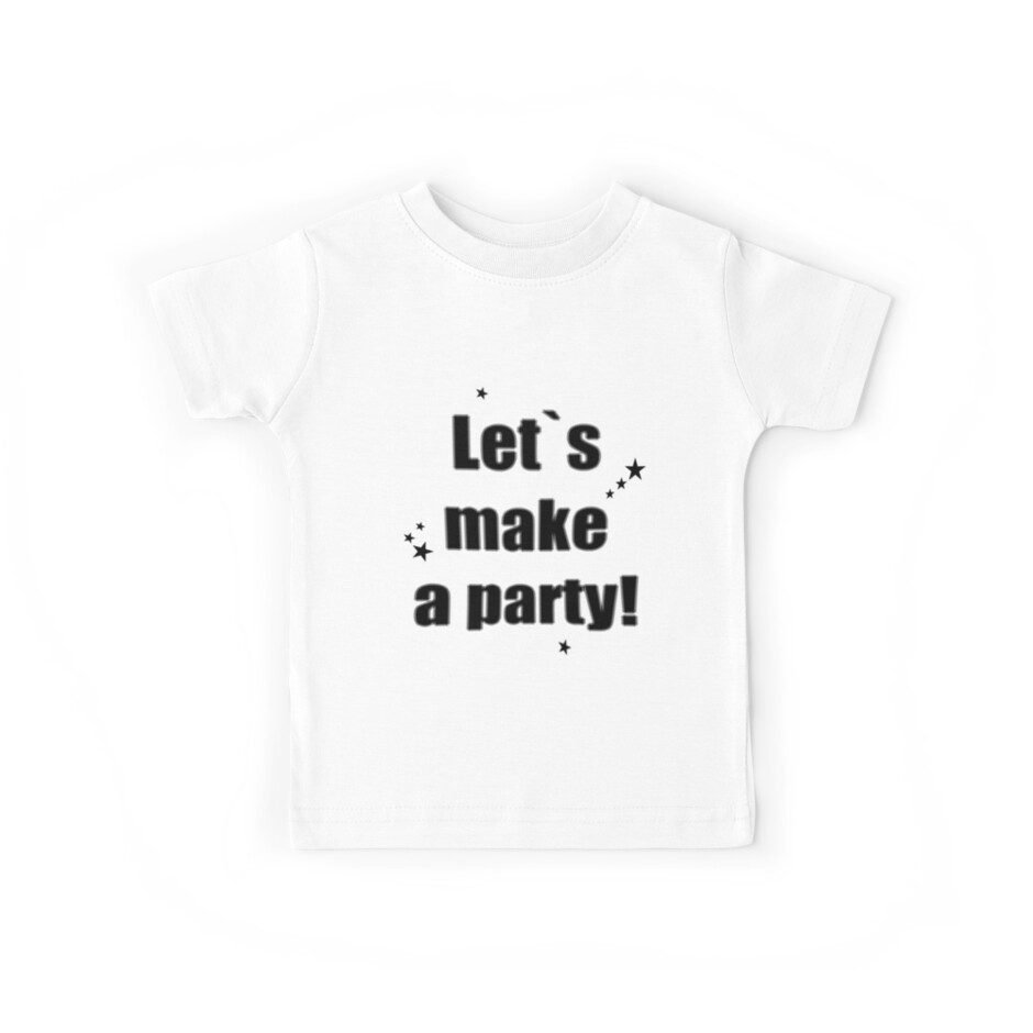Let's make a party! (iPhone & Tshirt Design) by Hallo Wildfang