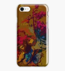 Succulents in Mustard iPhone Case/Skin