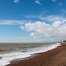 Hove Beach by Sue Robinson