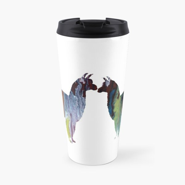 Alpaca Art Travel Mug