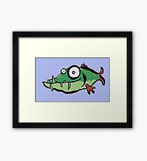 A not so pretty fish Framed Print