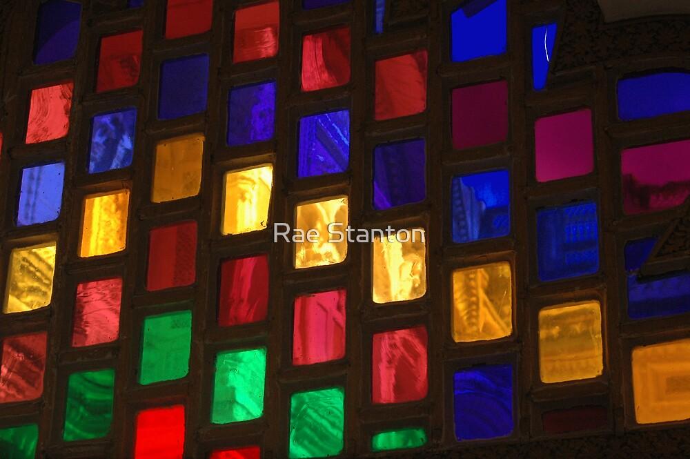 glass rainbow by Rae Stanton