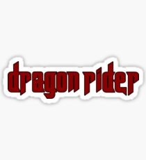 dragon rider Sticker
