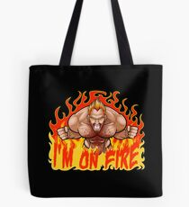 I'M ON FIRE! Tote Bag