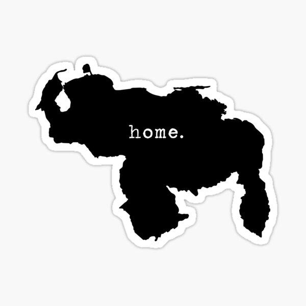 Mapa Home Pegatina