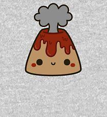 Cute volcano Kids Pullover Hoodie