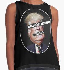 God Save The Czar! Punk Style Anti Trump Design Contrast Tank