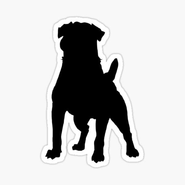 Rottie Sticker