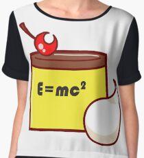 E=mc^2 - SAILOR MOON PUDDING OF RELATIVITY Women's Chiffon Top