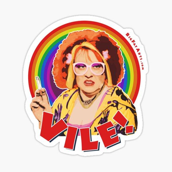 Vile! Sticker