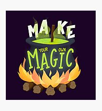 Make your own magic Photographic Print
