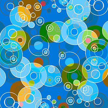 Blue Bubbles by illustrateme