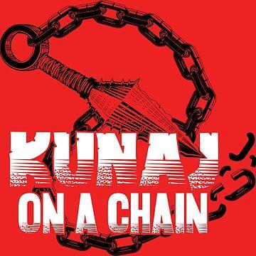Kunai On A Chain by petitnicolas