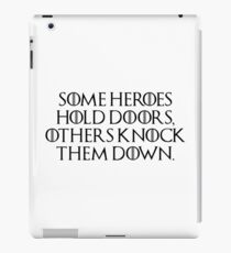 Game of Thrones - Hodor, Hold the Door, Wun Wun the Giant, Giants of the North iPad Case/Skin