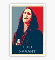 The room disaster artist parody Sticker