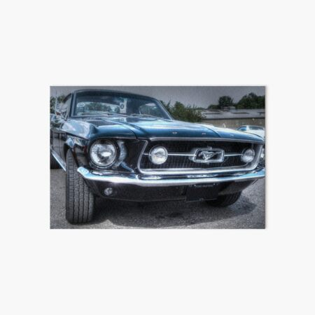 1967 Ford Mustang Art Board Print