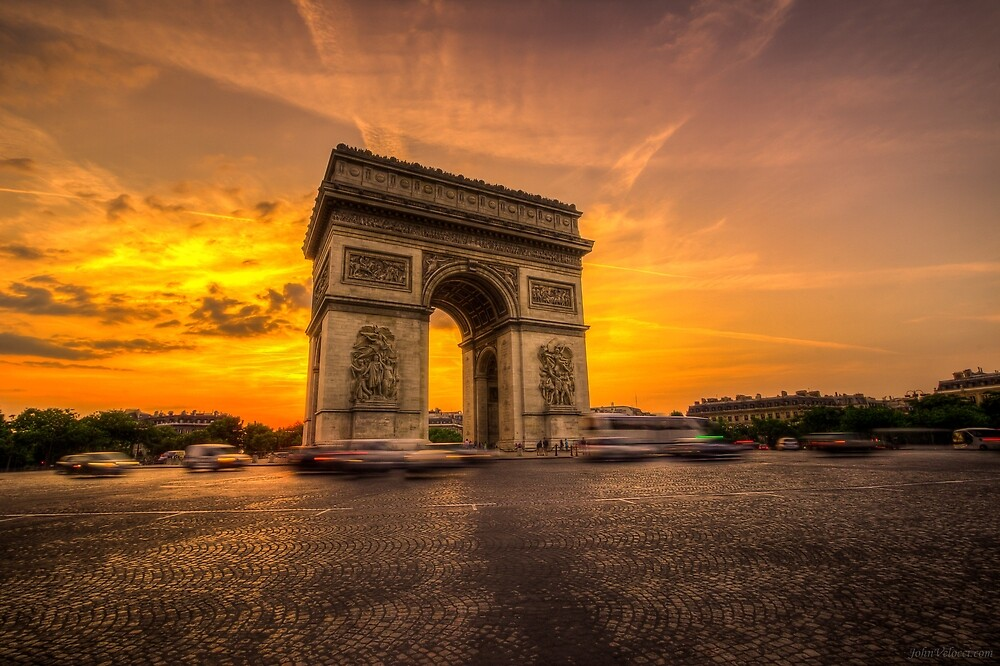 Arc De Triomphe 2 by John Velocci