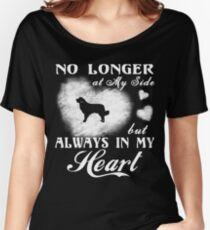 Maremma Sheepdog Always in My Heart gift t-shirts Women's Relaxed Fit T-Shirt
