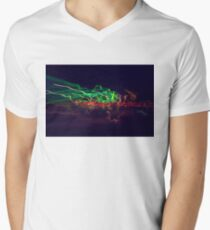 Sparks and flashes V-Neck T-Shirt