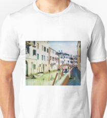 Venice (Italy) in watercolor T-Shirt