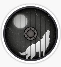 Wolf Shield - Ghost - Jon Snow Sticker