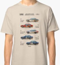 Ford Escort RAC Rally Tribute Classic T-Shirt