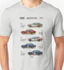 Ford Escort RAC Rally Tribute T-Shirt