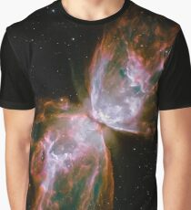 Butterfly Nebula Graphic T-Shirt