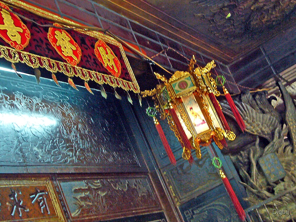 Temple Lantern by Digby