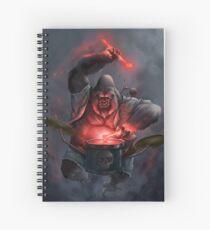 Gorilla drummer Spiral Notebook