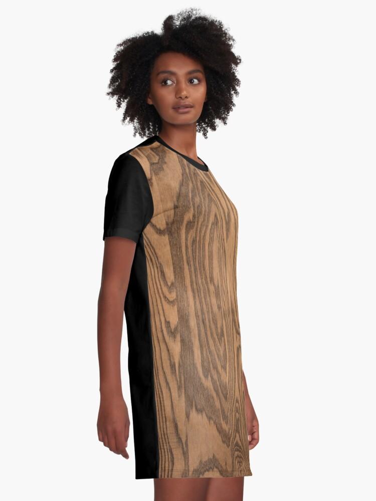 Alternate view of Wood 4 Graphic T-Shirt Dress
