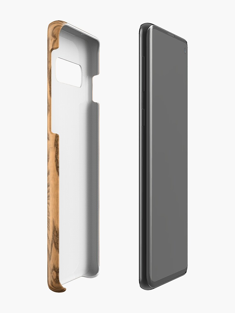 Alternate view of Wood 4 Case & Skin for Samsung Galaxy