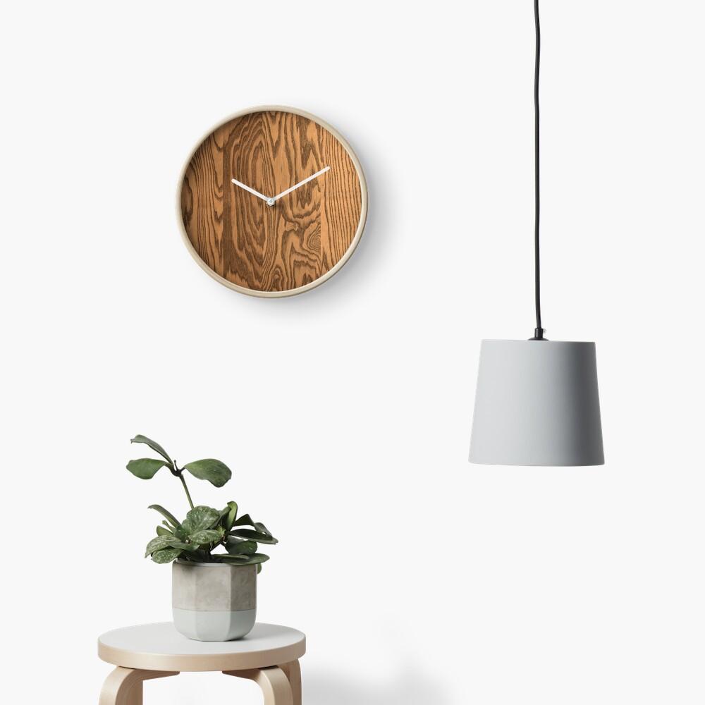 Wood 4 Clock