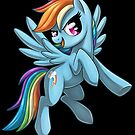 MLP: Rainbowdash by Sciggles